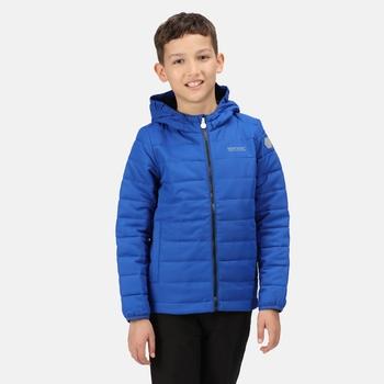 Kids' Helfa Insulated Hooded Jacket Surf Spray
