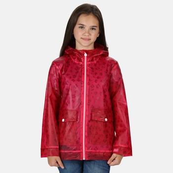 Kids' Hallow Waterproof Transparent Hooded Jacket Duchess Animal