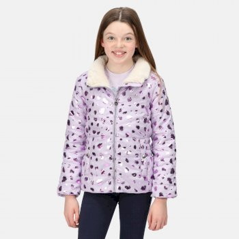 Kids' Vedetta Insulated Jacket Lilac Frost Smudge Print