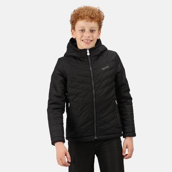 Kids' Spyra II Lightweight Insulated Jacket Black Ash Camo Reverse