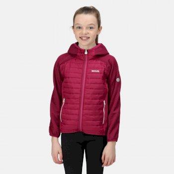 Kids' Kielder V Hybrid Insulated Jacket Fuchsia Raspberry Radiance