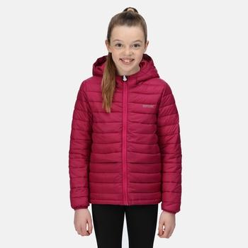 Dziecięca kurtka zimowa Winter Bagley bordowa