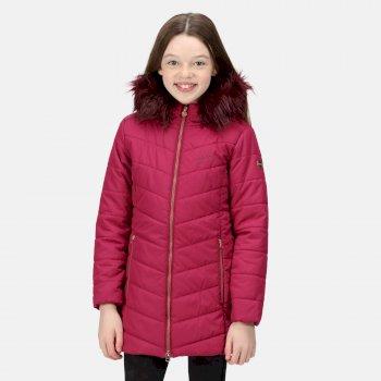 Dziecięca kurtka zimowa Fabrizia różowa