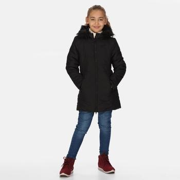 Dziecięca kurtka zimowa Fabrizia czarna