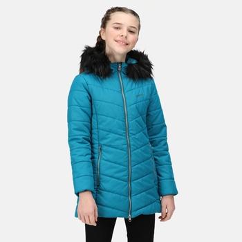 Dziecięca kurtka zimowa Fabrizia niebieska