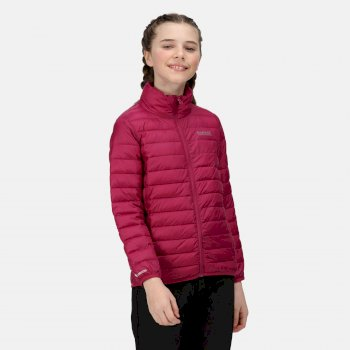 Kids' Hillpack Insulated Quilted Jacket Raspberry Radience