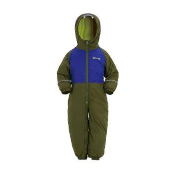 Mudplay III Breathable Waterproof Puddle Suit Cypress Green Surf Spray