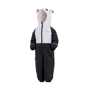 Mudplay III Breathable Waterproof Puddle Suit Black White