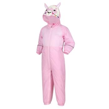 Kids' Mudplay III Waterproof Puddle Suit Sweet Lilac Llama