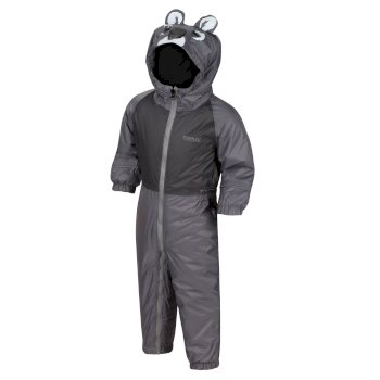 Kids' Mudplay III Breathable Waterproof Puddle Suit Grey Koala