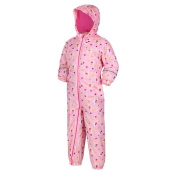 Kids' Printed Splat II Waterproof Puddle Suit Sweet Lilac Llama