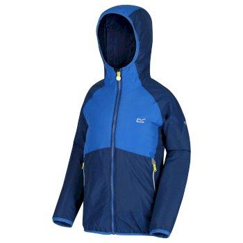 Kids' Volcanics III Waterproof Reflective Softshell Jacket Prussian Oxford Blue