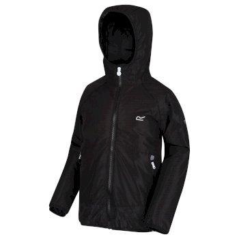 Kids' Volcanics III Waterproof Reflective Softshell Jacket Black