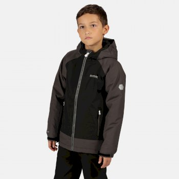 Kids' Hurdle III Waterproof Insulated Jacket Black Magnet
