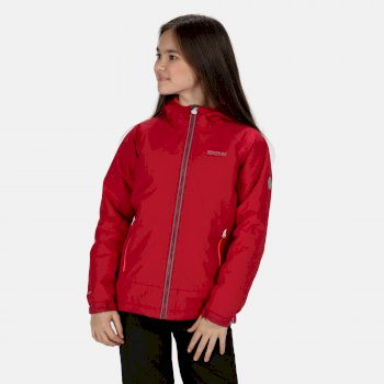Kids' Hurdle III Waterproof Insulated Jacket Dark Cerise