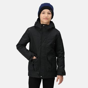 Kids' Bardron Waterproof Insulated Jacket Black