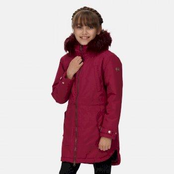 Kids' Abbettina Waterproof Insulated Parka Jacket Raspberry Radience