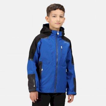 Kids' Hydrate VI 3-In-1 Waterproof Insulated Jacket Surf Spray Black