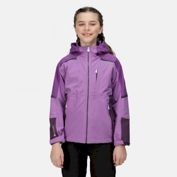 Kids' Hydrate VI 3-In-1 Waterproof Insulated Jacket Hyacinth Purple Sapphire Dark Aubergine
