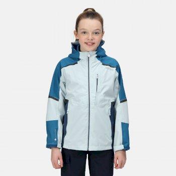 Kids' Hydrate VI 3-In-1 Waterproof Insulated Jacket Ice Blue Blue Sapphire Dark Denim
