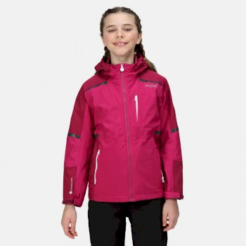 Kids' Hydrate VI 3-In-1 Waterproof Insulated Jacket Fuchsia Raspberry Radiance