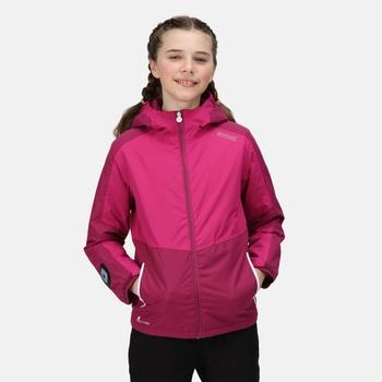 Kids' Beamz Waterproof Insulated Jacket Rasperry Radiance Fuchsia