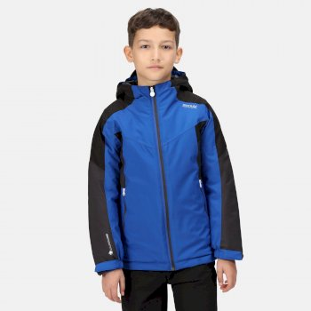 Kids' Highton II Waterproof Insulated Jacket Surf Spray Black