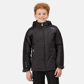 Kids' Highton II Waterproof Insulated Jacket Ash Black