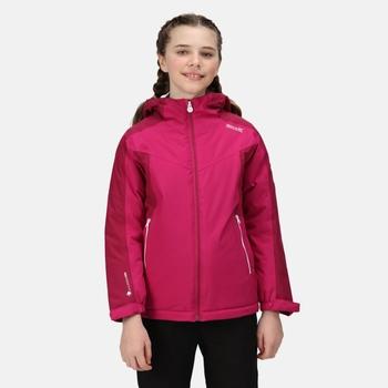 Kids' Highton II Waterproof Insulated Jacket Fuchsia Raspberry Radiance