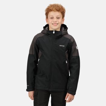 Kids' Hurdle IV Waterproof Insulated Jacket Black Ash