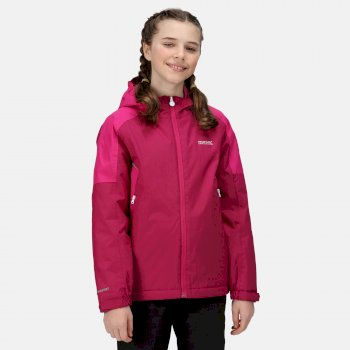 Kids' Hurdle IV Waterproof Insulated Jacket Rasperry Radiance Fuchsia