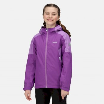 Kids' Hurdle IV Waterproof Insulated Jacket Purple Sapphire Hyacinth