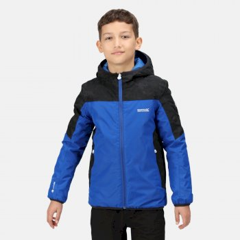 Kids' Volcanics V Waterproof Insulated Jacket Surf Spray Black
