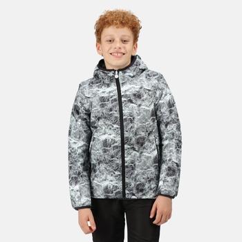 Kids' Volcanics V Waterproof Insulated Jacket Lightning Print