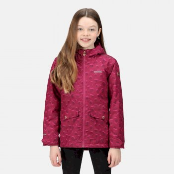 Kids' Bixby Waterproof Insulated Jacket Raspberry Smudge Print
