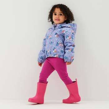 Peppa Pig Padded Muddy Puddle Jacket Lilac Bloom