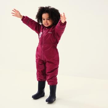 Peppa Pig Mudplay Waterproof Puddle Suit Raspberry Radience