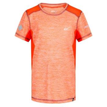 Kids' Takson Breathable T-Shirt Blaze Orange