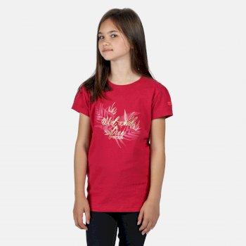 Kids' Bosley III Printed T-Shirt Duchess Pink Wild Print
