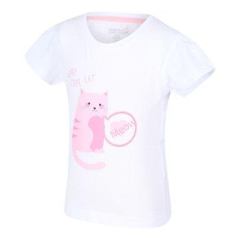 Kids' Bosley III Printed T-Shirt Cool Pink Unicorn Print