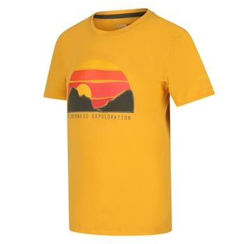 Kids' Bosley III Printed T-Shirt Glowlight