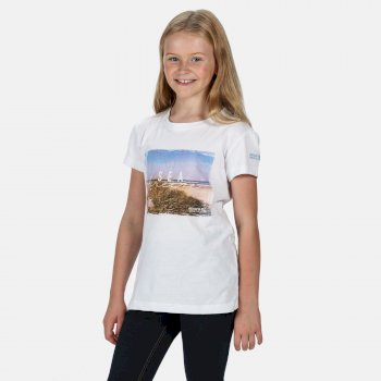 Kids' Bosley III Printed T-Shirt White Sea Breeze Print