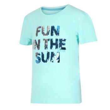 Kids' Bosley III Printed T-Shirt Aruba Sequin