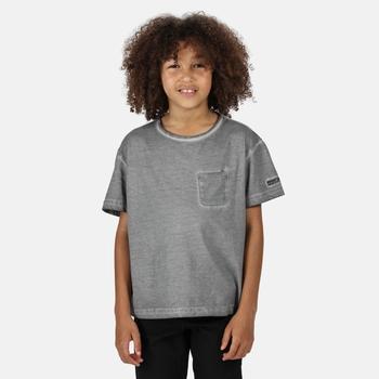 Kids' Ayan Coolweave T-Shirt Rock Grey