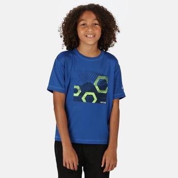 Kid's Alvardo V Graphic T-Shirt Nautical Blue