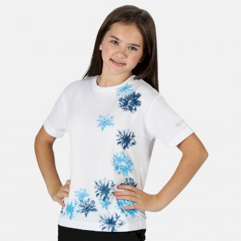 Dziecięcy T-shirt Alvarado V biały