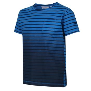 Kids' Manthos Striped T-Shirt Navy Stripe