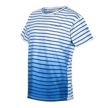 Kids' Manthos Striped T-Shirt Nautical Blue Stripe