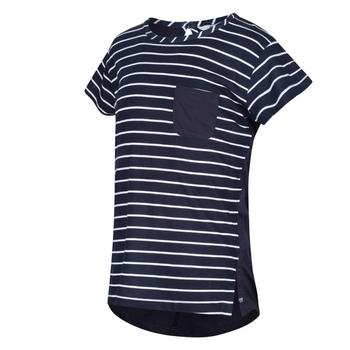 Kids' Charabee Lightweight T-Shirt Navy White Stripe