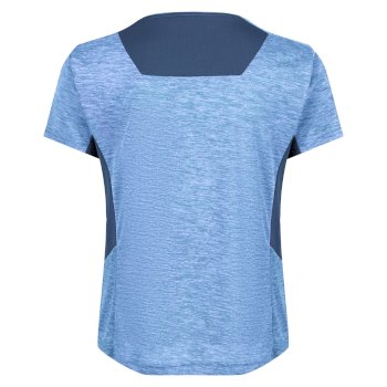 Kids' Takson III Marl Active T-Shirt Nautical Blue Dark Denim